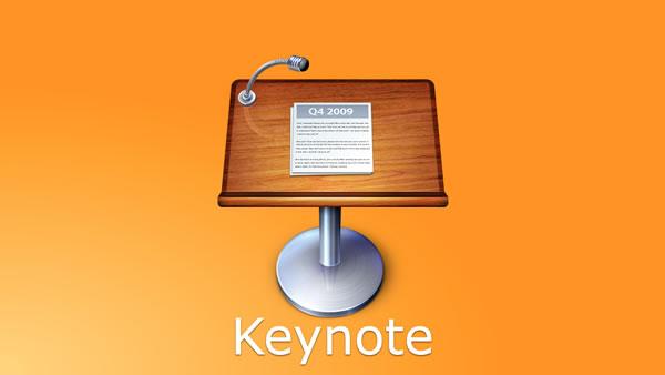 Presenter View in Keynote